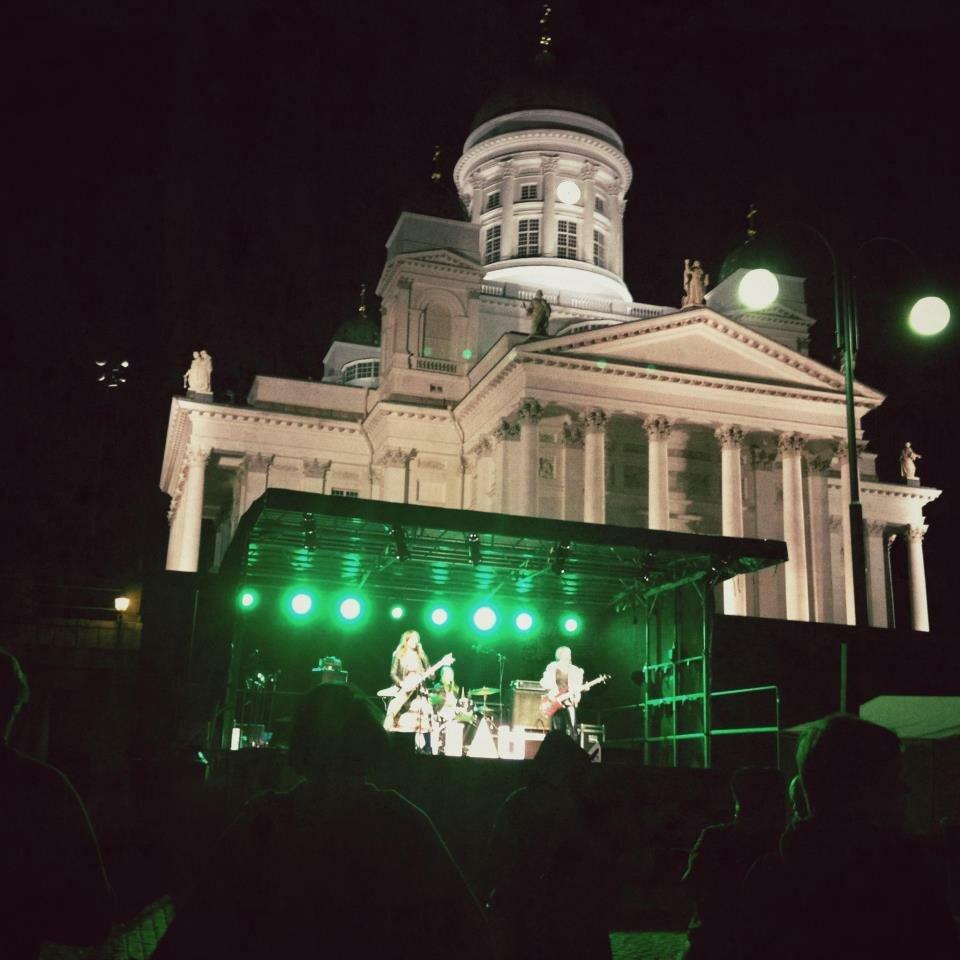 MIAU at Helsinki Senate Square 2012